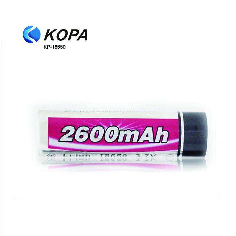 2PACK Li-ion Battery 3.7V Cell 18650-2200mah 2600mah Rechargeable Battery 18650 Rechargeable Battery