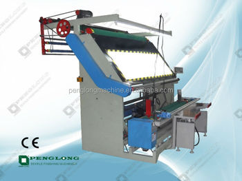 2017 hot sale knitted fabric inspection rolling and measuring machine/ fabric inspection machine