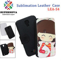 Sublimation wallet leather case for samsung galaxy s4 active
