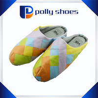 PU home indoor slipper soft warm winter house shoes