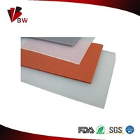 Soft silicone rubber sheet with many size and colors