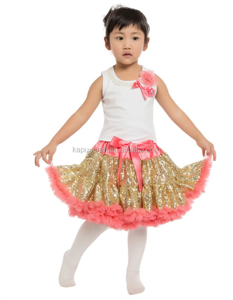 Girls Pettiskirts Set Cotton Ballet Top Tutu Skirt Dance Dress/Girls tutu skirt and top set