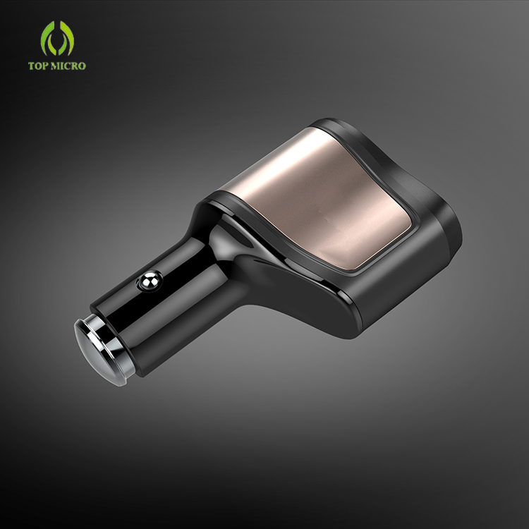 Intelligent Multi-functional 3.1A Dual USB 1*Cigarette Lighter Car Charger