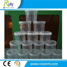 500ml food grade pickles clear plastic buckets