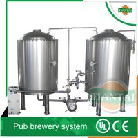 200l beer brewing equipment with grain milling machine