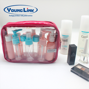 custom made cosmetic plastic pvc eva bag