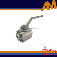 Stainless steel OEM high pressure ball valve