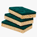 Remove Oil Cellulose Sponge Wipe Eco-Friendly Sponge Cloth With Anti Bacterial Large Scrub Sponge Pad