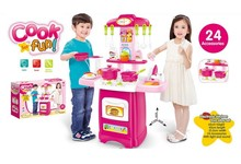 Q-KIDS battery operated plastic new cooking games for girls cheap price