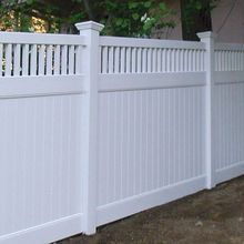 Hot Sale PVC Fencing, Plastic Garden Fence Panels