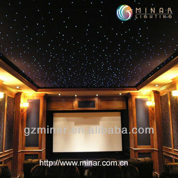 fiber optic lighting, Theatres and cinemas lighting