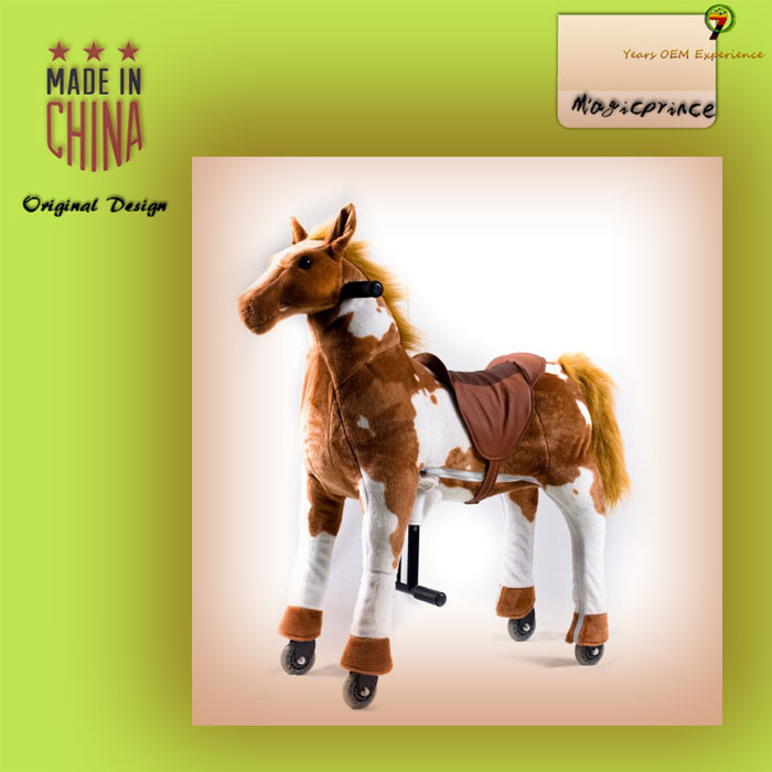 New design rocking horse toys for kids 2016, Zoo pal riders For boys