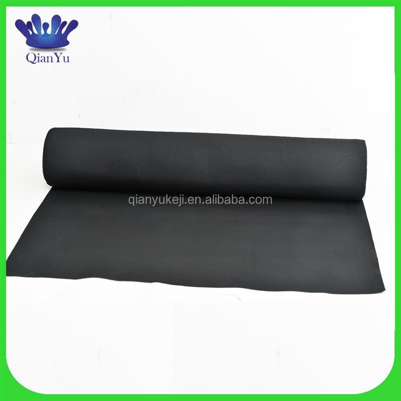 Top quality epdm rubber roll basement waterproofing materials