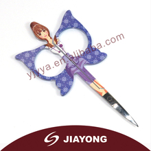2014 fashional design butterfly cuticle scissors