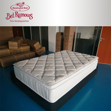 Best Organic Natural PU foam Pocket Spring Sleeing well cotton mattress