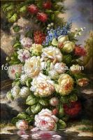 CF704-G4 Flower oil painting