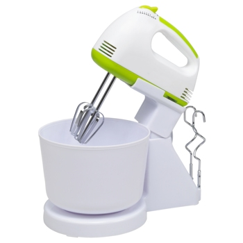 Hot Sell Electric Hand Mixer With Plastic Bowl