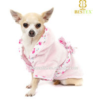 Wholesale New Chinese Factory Pet Bath Robe Clothing for Dog