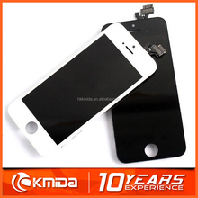 Free Shipping mobile phone lcd touch screen for iphone 5 replacement digitizer