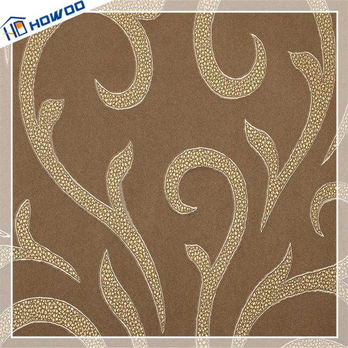 Chinese design competitive price new vinyl moisture resistant wallpaper