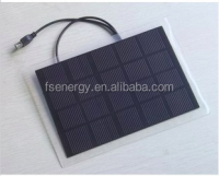 High efficiency portable PET laminate 3w 5v mono mini solar panel, small size solar panel China manufacturer