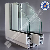 BEIDI Mesh Screen Window PVC Profile UPVC Bathroom PVC Doors Prices