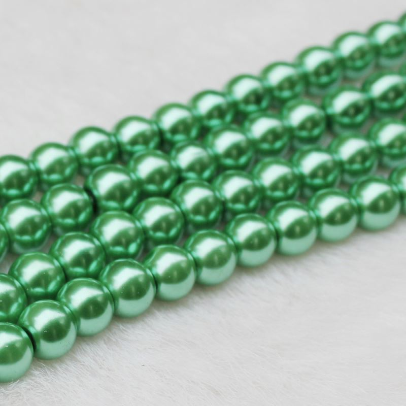 Hot Selling 8MM White Color Pearl Round Beads Jewelry Ornament