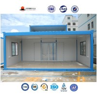 20 ft luxury prefab house shipping container moveable modern house