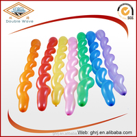 Screw/ spiral latex balloon toys for Christmas