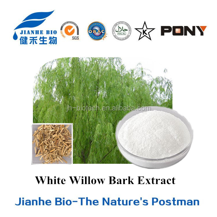 White Willow Bark Extract, Salicin 15%-99%HPLC,CAS No.: 138-52-3