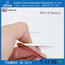 Hot selling 504045 1000mAh 3.7V rechargeable Li-ion battery with PCB, battery charger
