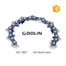 "Gas power type 325"" saw chain ,chainsaw spare parts chainsaw chain roll in best price"
