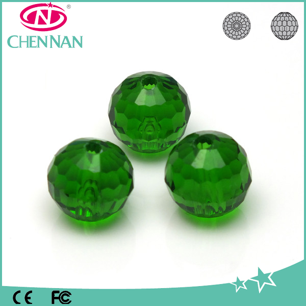 Yiwu glass beads factory faceted ball beads Japan crystal beads