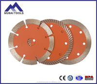 350mm professional continous rim diamond saw blade for ceramic/porcelain