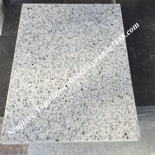 Natural Polished product stone slab white water wave white granite