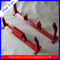 belt conveyor roller bracket for material handling equipment