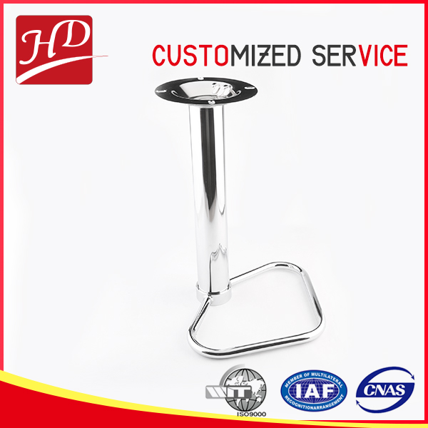 corrosion resistant long metal chair base