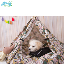 China manufacture portable pet tents for cats and dog to play in