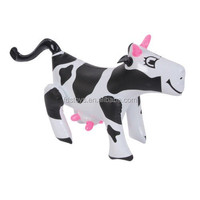 PARTY INFLATABLE COW BLOW UP FARM YARD ANIMAL NOVELTY TOY
