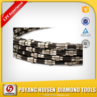 High Diamond Consentration Rope Wire Saw Manufacturers