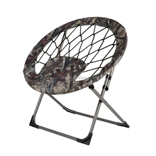 high quality fun leisure elastic bungee round seat folding chair without legs