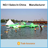 Inflatable Aqua Park ,Water Park Equipment With CE EN15649 For Children Or Adults