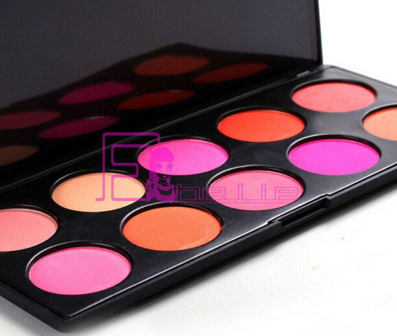 Colorful exported wholesale guangzhou makeup blusher