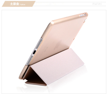 Manufacturer wholesale price shock proof standing leather case for iPad 1 2 3 4 air pro
