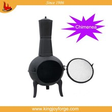TOP QUALITY Kingjoy cast iron and aluminium chiminea