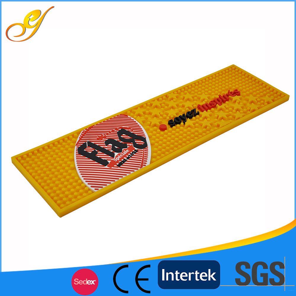 OEM Durabel Eco-friendly PVC Rubber Bar Counter Mat