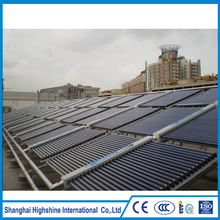 High quality solar electronic projects Vacuum Tube non-pressure Direct Flow Project Solar Collector