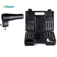 16 pieces Iron ZOS Hunting Airsoft Boresighter Scope Alignment Device Rifles Pistols Handguns Firearms Bore Sighter kit