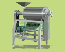 vegetable pulp squeezing machine / fruit jam making machine