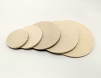 2/3/4/5/6/7inch Felt Buff Polishing Pad for Car Polisher, glass polish pad for Electric Polisher ,Dual action polisher